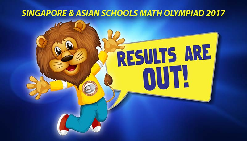SASMO 2017 Results – Singapore and Asian Schools Math Olympiad
